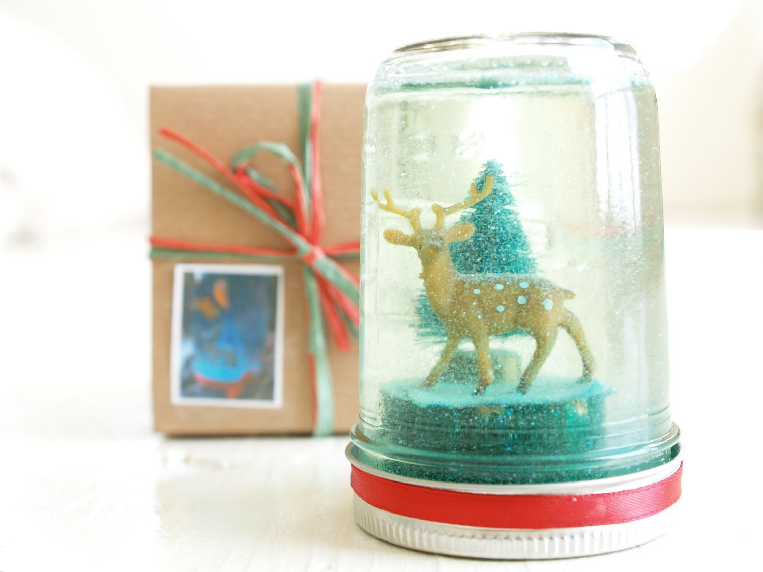 Best ideas about DIY Snowglobe Kit . Save or Pin DIY Snow Globe Kit Christmas Winter Wonderland for Children Now.