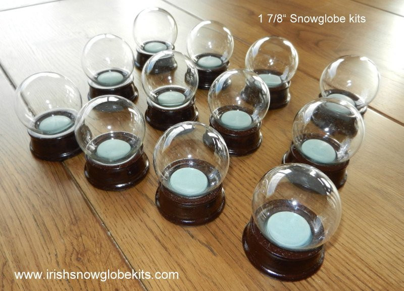 Best ideas about DIY Snowglobe Kit . Save or Pin Make your own DIY Tiny Snow globe kit 48mm by Now.