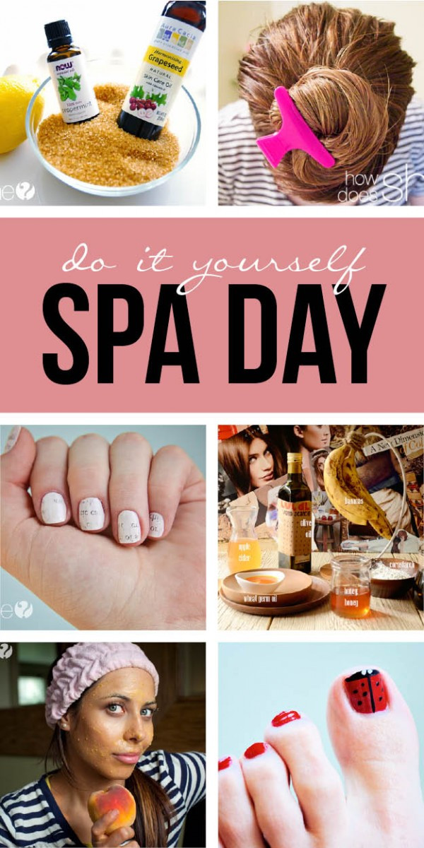 DIY Spa Treatment  DIY Spa Day