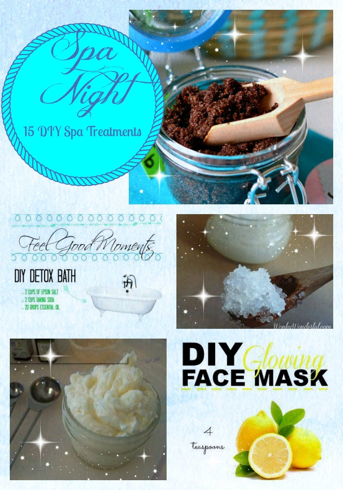 DIY Spa Treatment  Spa Night 15 DIY Spa Treatments you can Make at Home