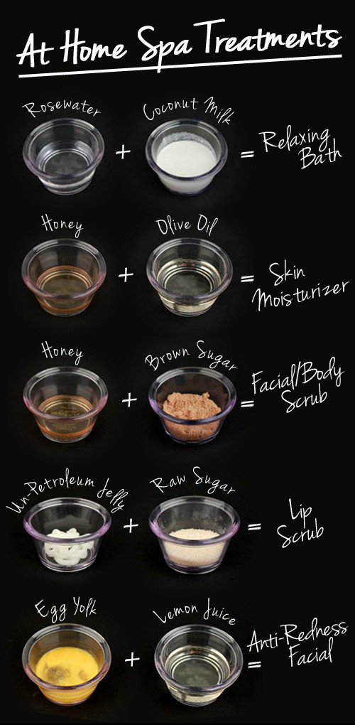 DIY Spa Treatment  DIY At Home Spa Treatments Lulus Fashion Blog