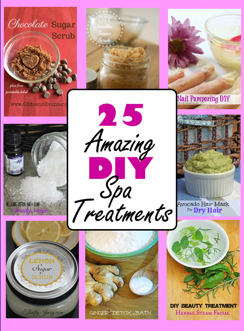 DIY Spa Treatment  DIY Spa Treatments