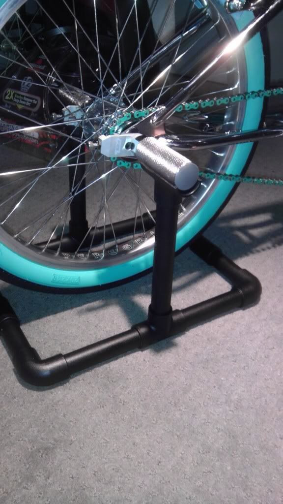 Best ideas about DIY Stationary Bike Stand . Save or Pin DIY BIKE STAND Shape It Up Pinterest Now.