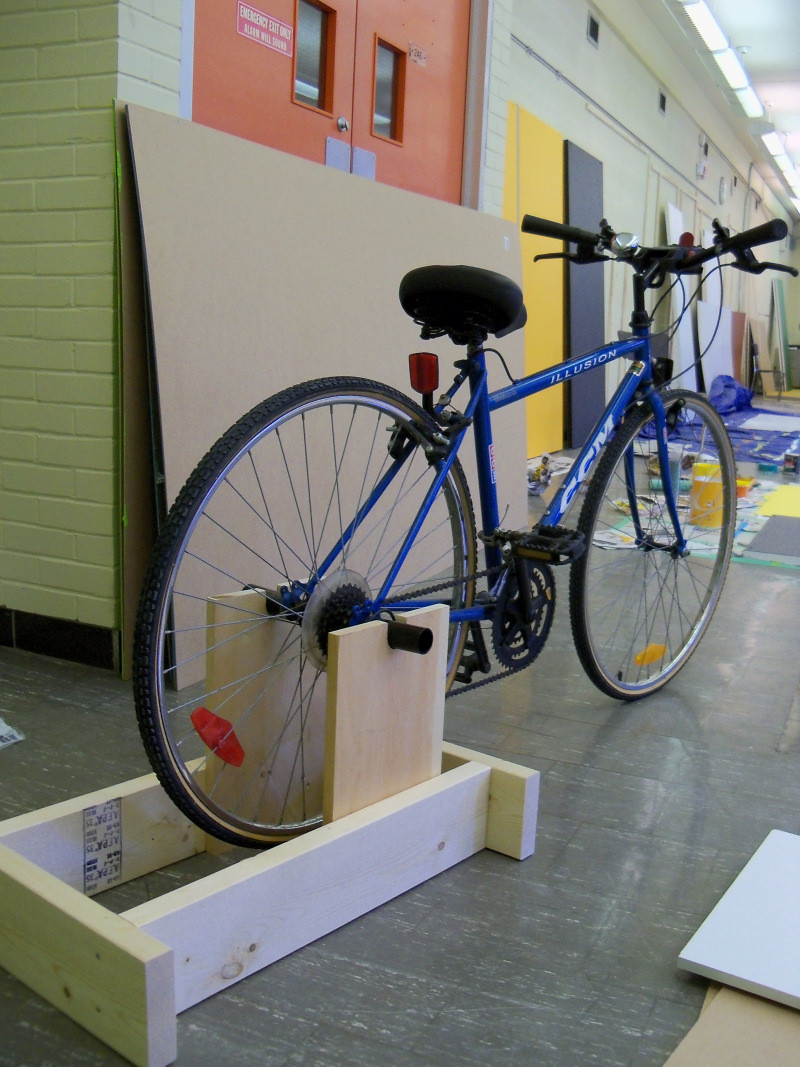 Best ideas about DIY Stationary Bike Stand . Save or Pin Small garden shed for bikes Most Popular Now.