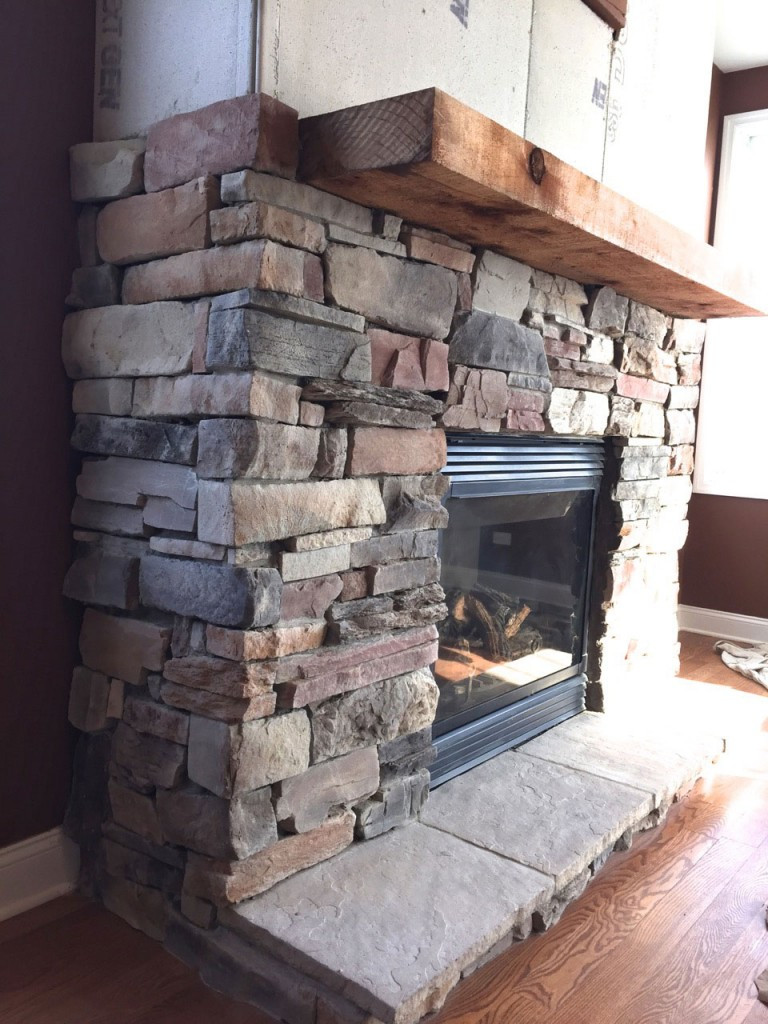 DIY Stone Fireplace  Stone Fireplace Archives North Star Stone