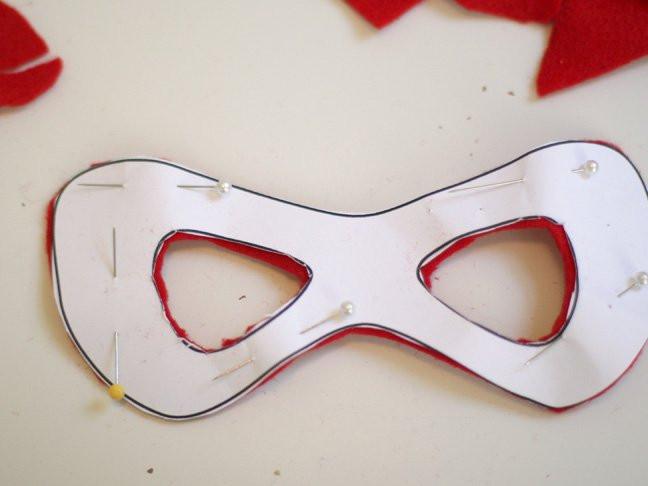 DIY Superhero Mask Template  DIY Simple Superhero Mask