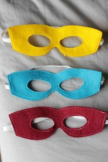 DIY Superhero Mask Template  Homemade Top Good Christmas Gifts for Boys