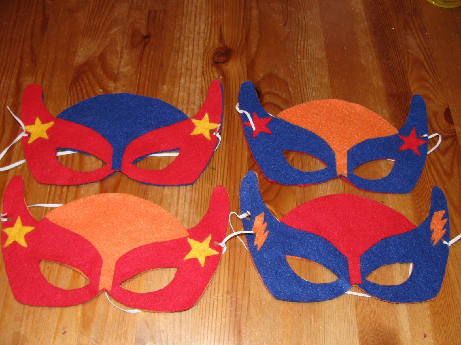DIY Superhero Mask Template  My Crafty Playground DIY Superhero masks