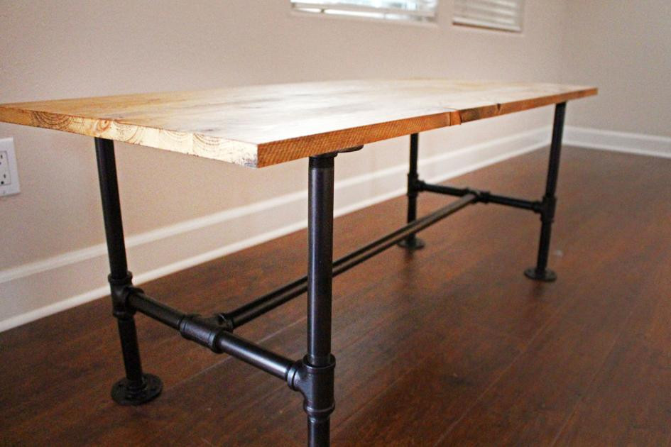 DIY Table Legs Pipe  DIY Make your own stylish metal pipe coffee table