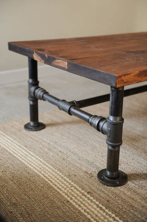 DIY Table Legs Pipe  DIY Coffee Table Projects • The Bud Decorator