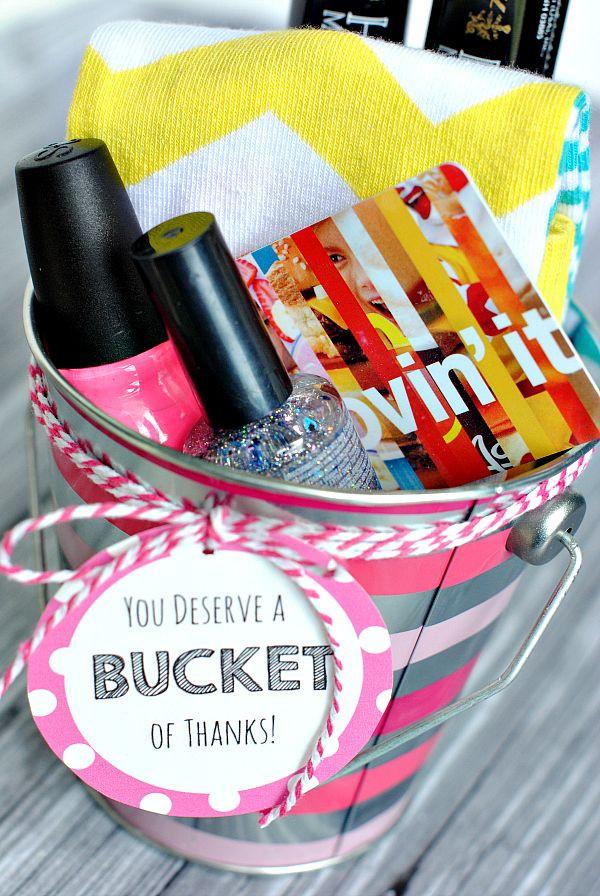 Diy Thank You Gift Basket Ideas  Best 25 Thank you baskets ideas on Pinterest