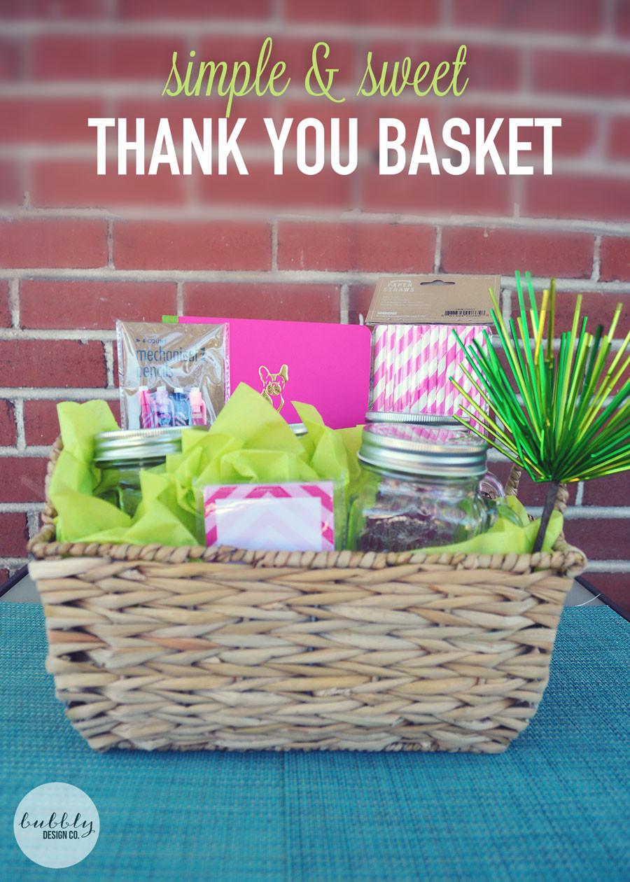 Diy Thank You Gift Basket Ideas  Homemade Gift Basket Ideas For Teachers Homemade Ftempo