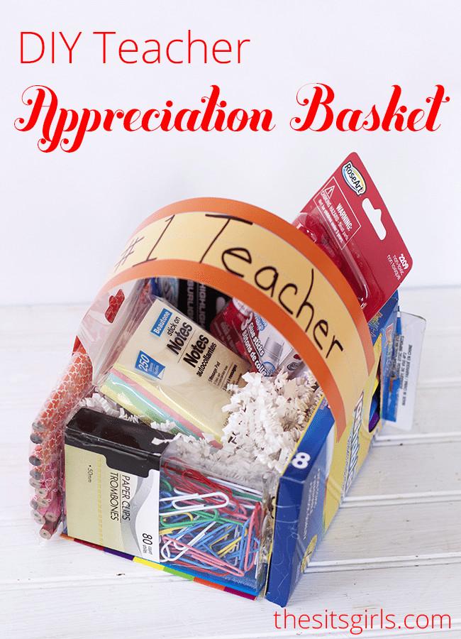 Diy Thank You Gift Basket Ideas  DIy Teacher Appreciation ts or Easter Baskets