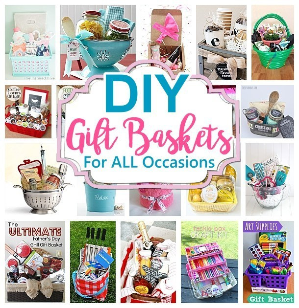 Diy Thank You Gift Ideas  Do it Yourself Gift Basket Ideas for Any and All Occasions