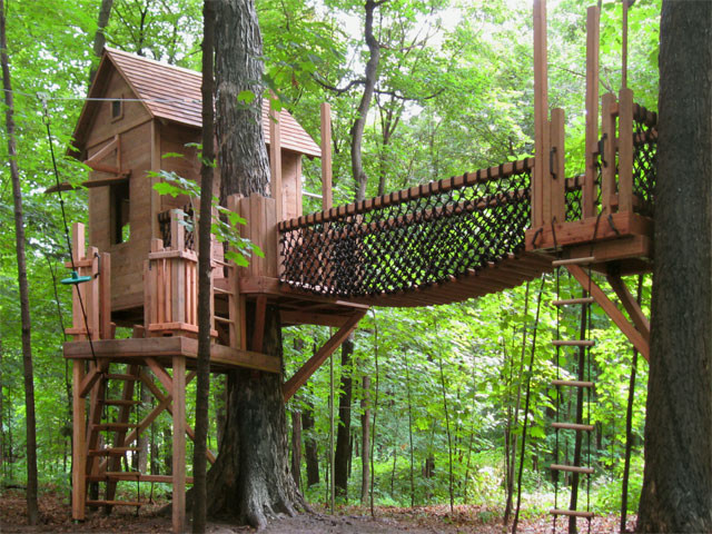 Best ideas about DIY Treehouse Kits . Save or Pin Tree Houses for Kids AustinTreeHouses Now.