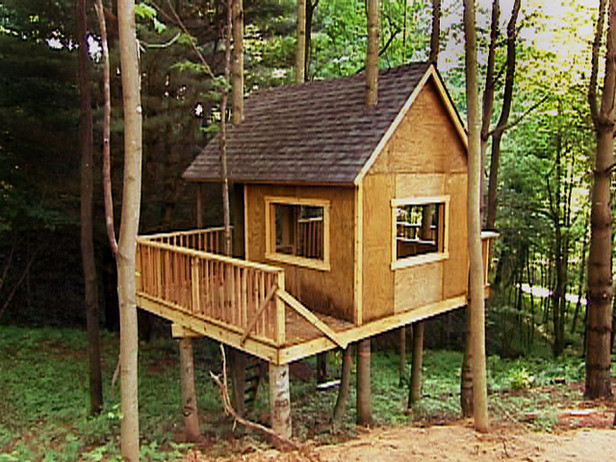 Best ideas about DIY Treehouse Kits . Save or Pin Building A Easy Treehouse Now.