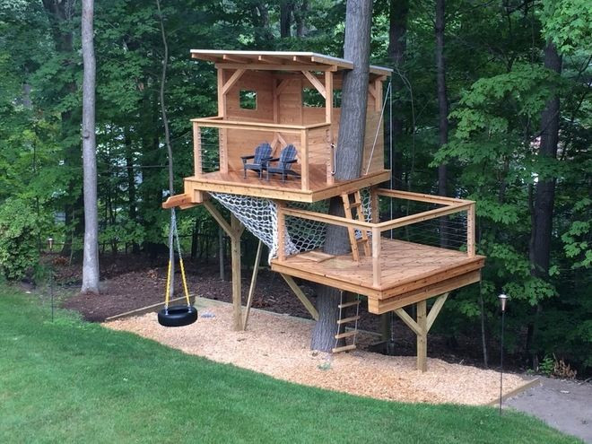 Best ideas about DIY Treehouse Kits . Save or Pin 20 DIY Tree House Plans & Design Ideas for Adult and Kids Now.
