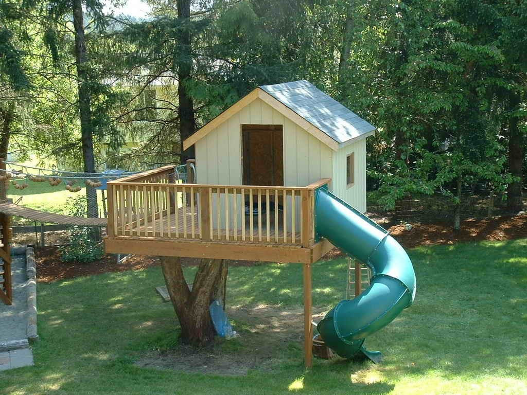 Best ideas about DIY Treehouse Kits . Save or Pin Cheap Tree House Plans New Backyard Tree House Kits Design Now.