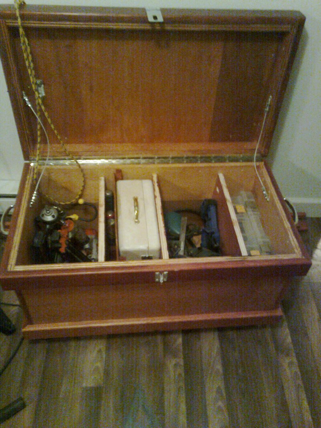 DIY Truck Tool Box  Old Homemade Tool Boxes Tools & Equipment Contractor Talk