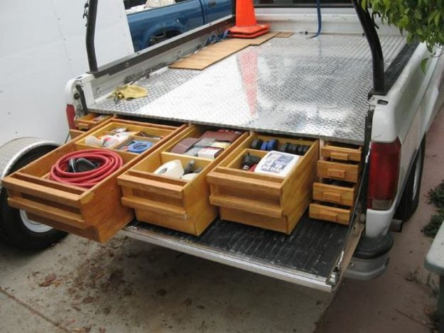 DIY Truck Tool Box  How To Install A Sliding Truck Bed Drawer System Diy