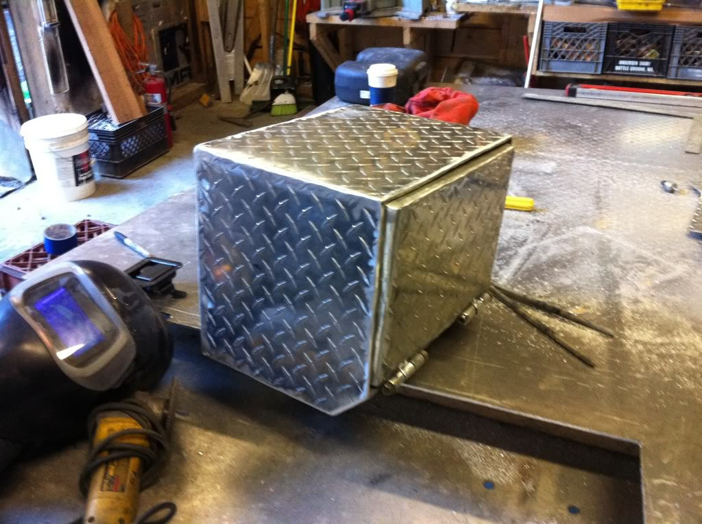 DIY Truck Tool Box  Home made flatbed tool boxes YotaTech Forums