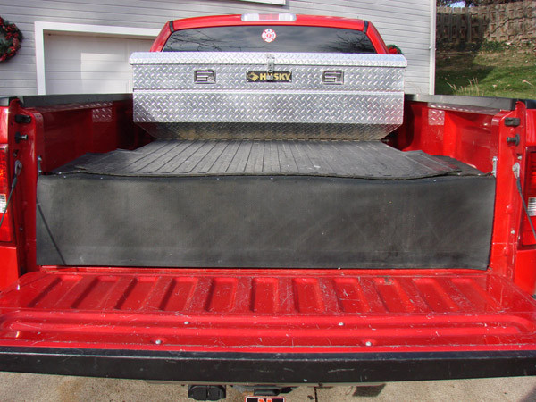 DIY Truck Tool Box  Homemade Truck Box Vehicles Contractor Talk