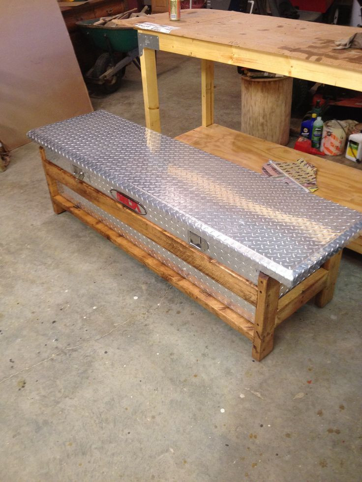 DIY Truck Tool Box  How To Build A Wood Truck Tool Box WoodWorking Projects