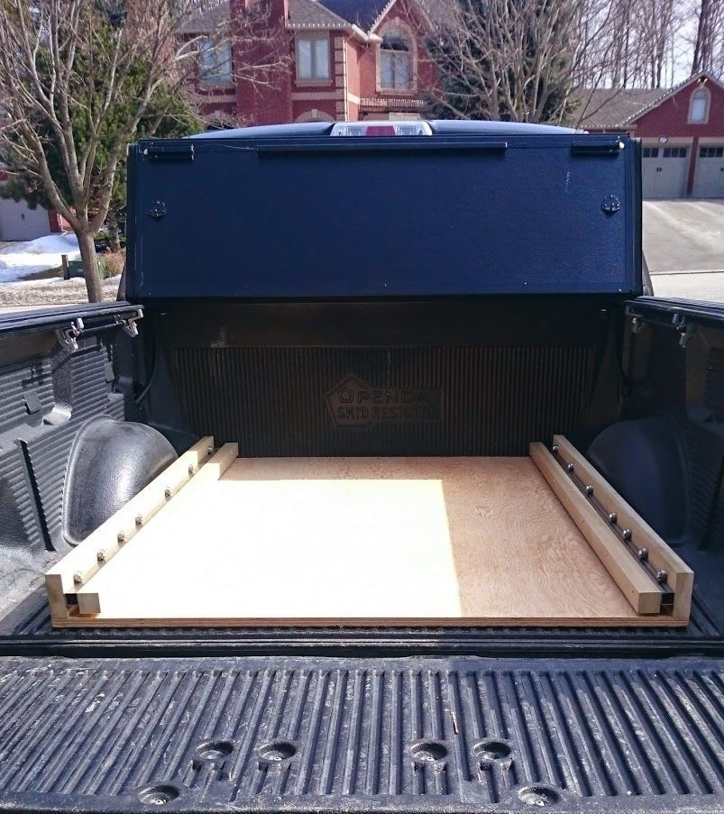 DIY Truck Tool Box  DIY bed slide Ford Truck Enthusiasts Forums