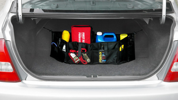 DIY Trunk Organizer  Diy Car Trunk Organizer Diy Do It Your Self