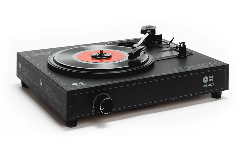 DIY Turntable Kit  This kit lets you build your own turntable in just 18 minutes