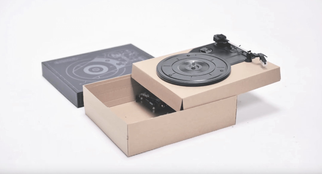 DIY Turntable Kit  This DIY Kit Lets You Make A Turntable From Cardboard And