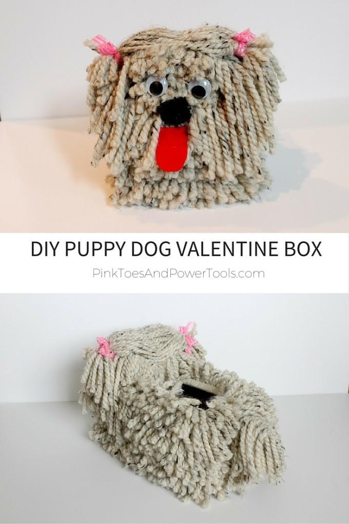 Best ideas about DIY Valentine Box . Save or Pin DIY Puppy Dog Valentine Box Now.