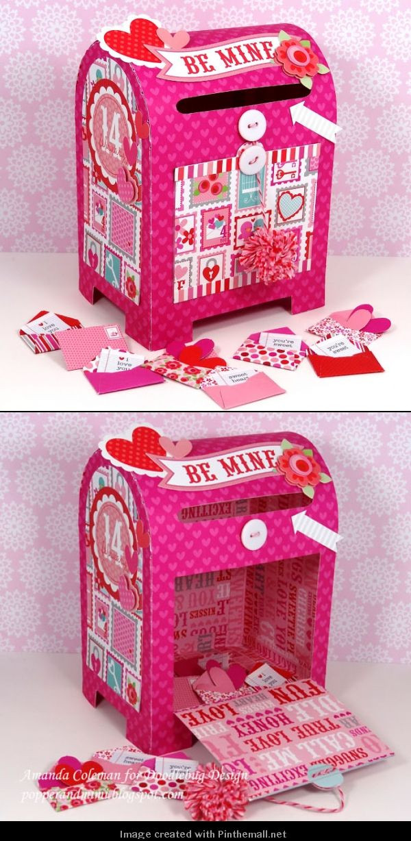 Best ideas about DIY Valentine Box . Save or Pin The cutest DIY Valentine box packaging let s make one PD Now.