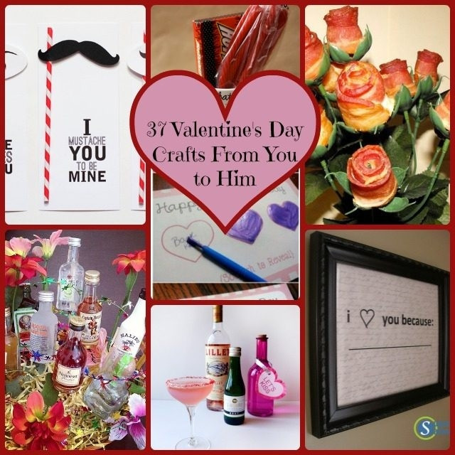 Best ideas about DIY Valentine'S Gifts . Save or Pin Creative Homemade Valentine S Day Gifts For Him Gift Ftempo Now.
