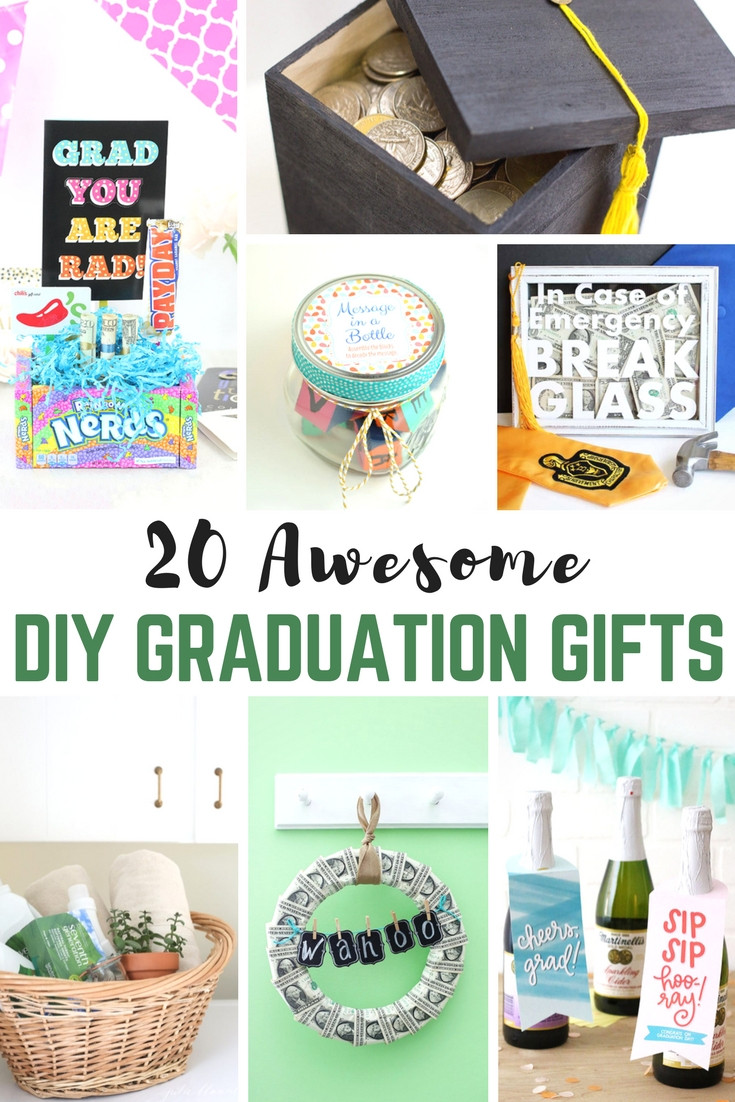 Best ideas about DIY Valentine'S Gifts . Save or Pin 20 Awesome DIY Graduation Gifts Now.