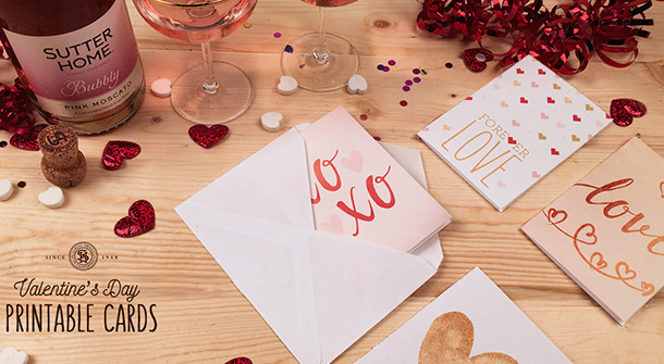 Best ideas about DIY Valentine'S Gifts . Save or Pin DIY Printable Valentine's Day Cards Now.