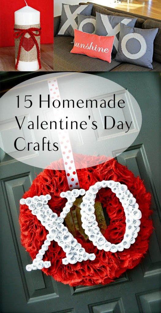 Best ideas about DIY Valentine'S Gifts . Save or Pin 25 best ideas about Homemade valentines on Pinterest Now.