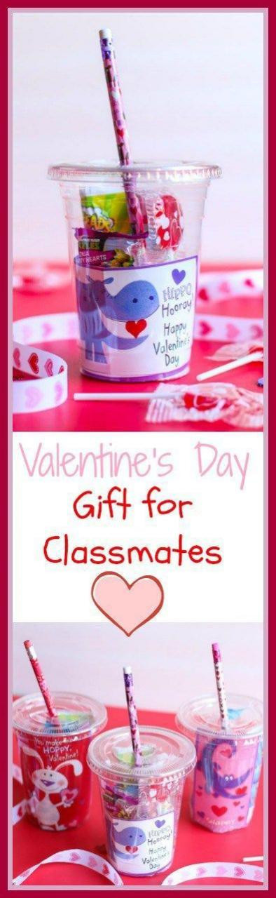 Best ideas about DIY Valentine'S Gifts . Save or Pin These cups are the cutest and sweetest DIY Valentine s Day Now.