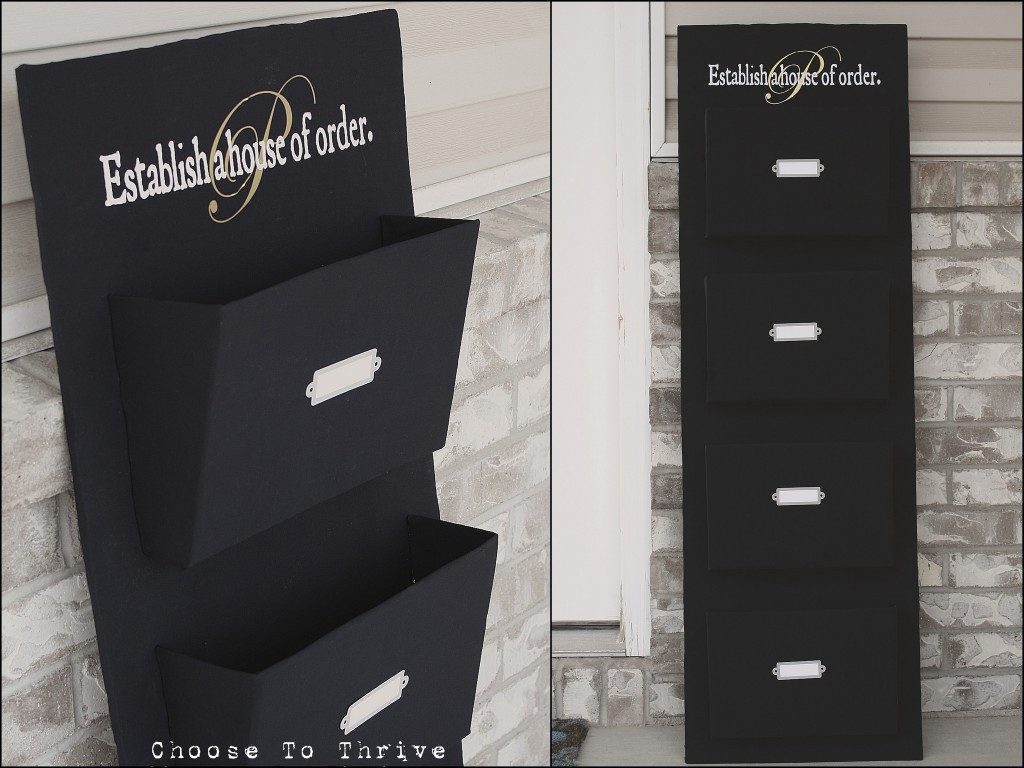 Best ideas about DIY Wall File Organizer . Save or Pin Be Different Act Normal DIY Mail Organizer Now.