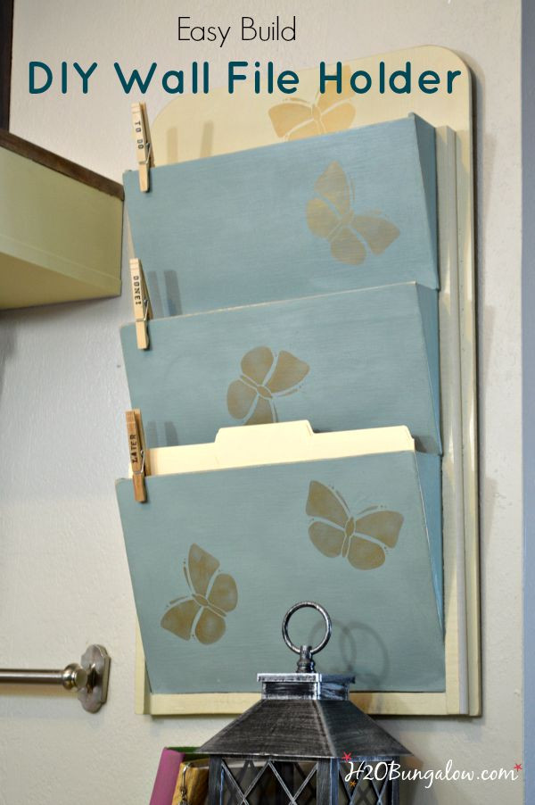 Best ideas about DIY Wall File Organizer . Save or Pin Easy Build DIY Wall File Organizer Now.