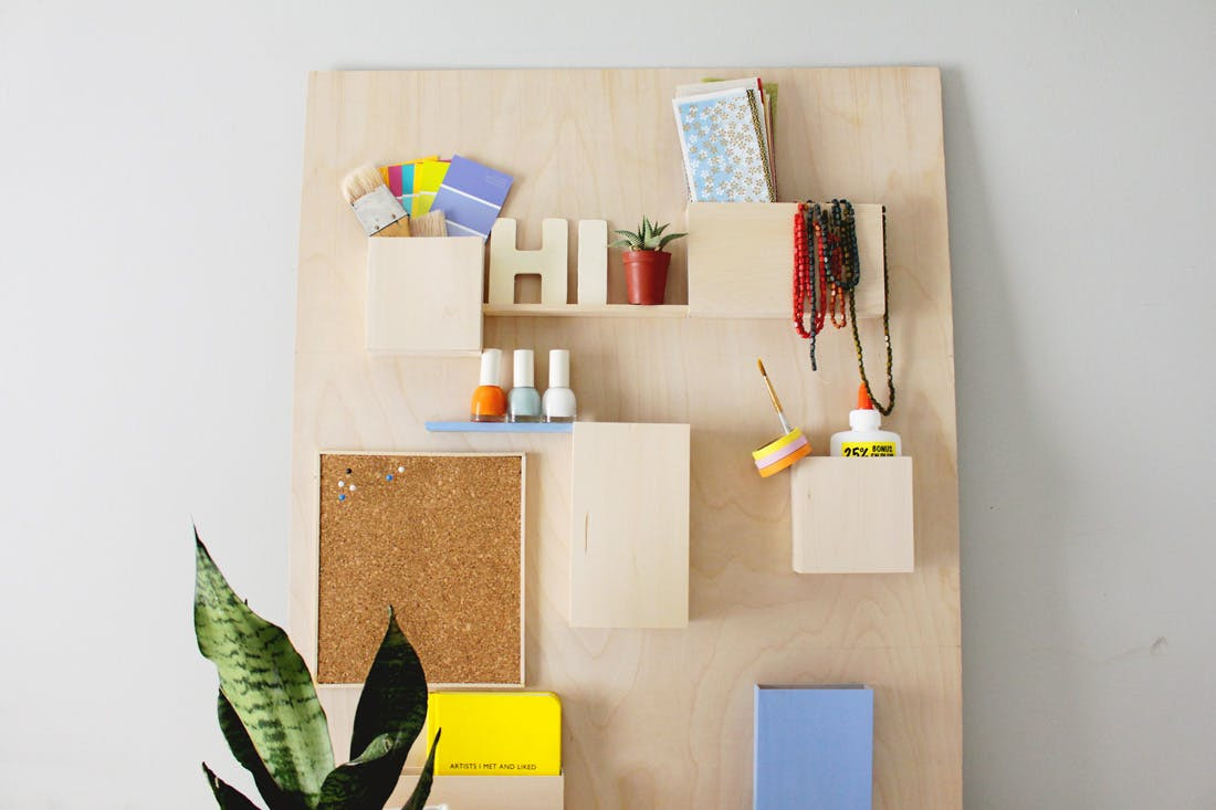 Best ideas about DIY Wall File Organizer . Save or Pin DIY This $328 Anthropologie Wall Organizer for Less Than Now.