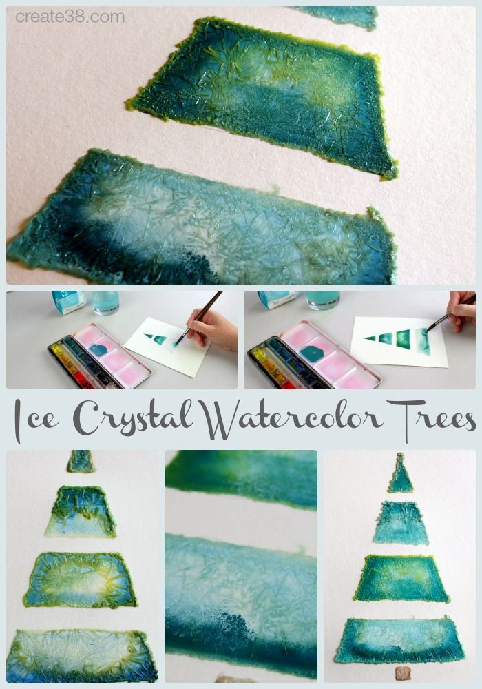 DIY Watercolor Christmas Cards  40 best images about Christmas cards on Pinterest