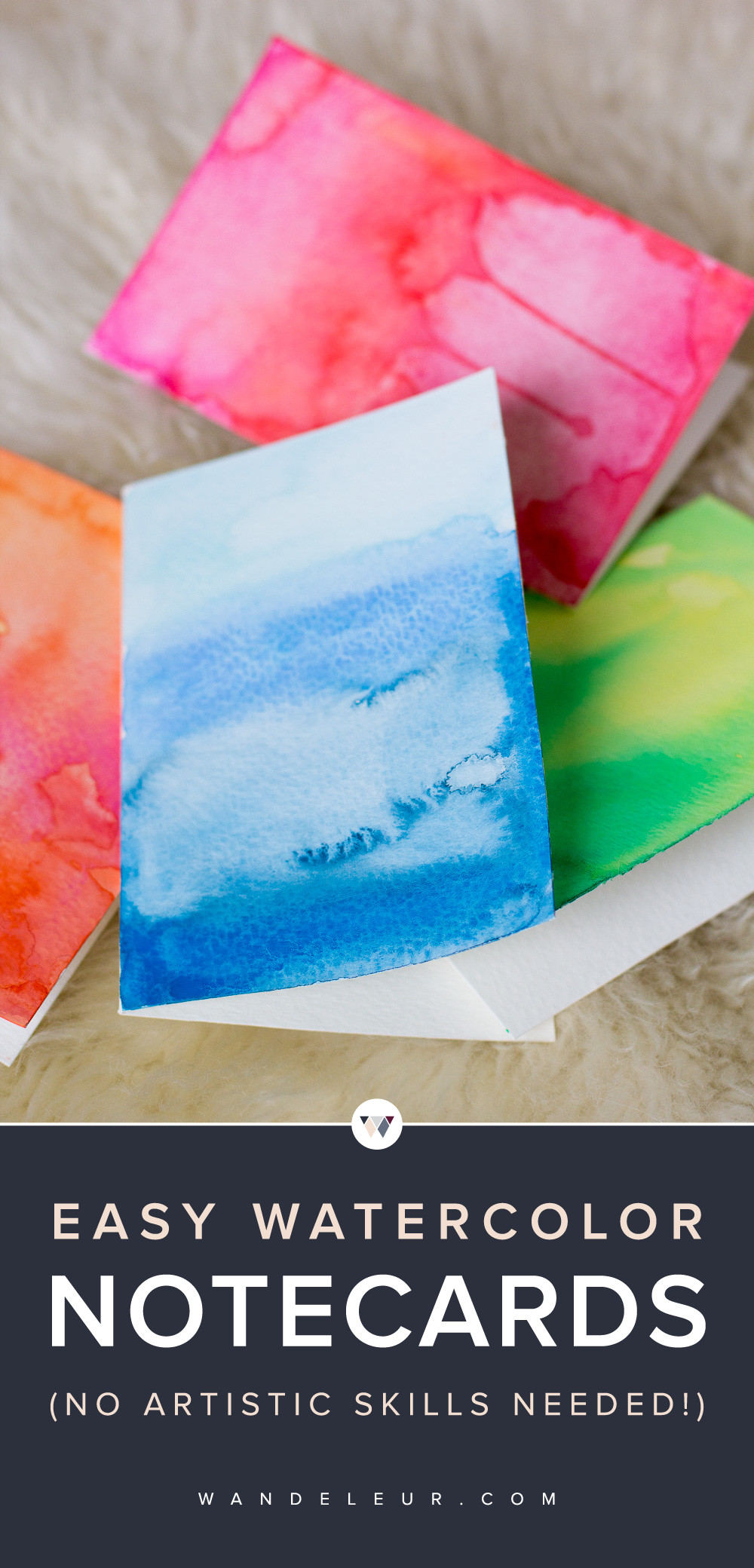 DIY Watercolor Christmas Cards  DIY Watercolor Greeting Cards — Wandeleur