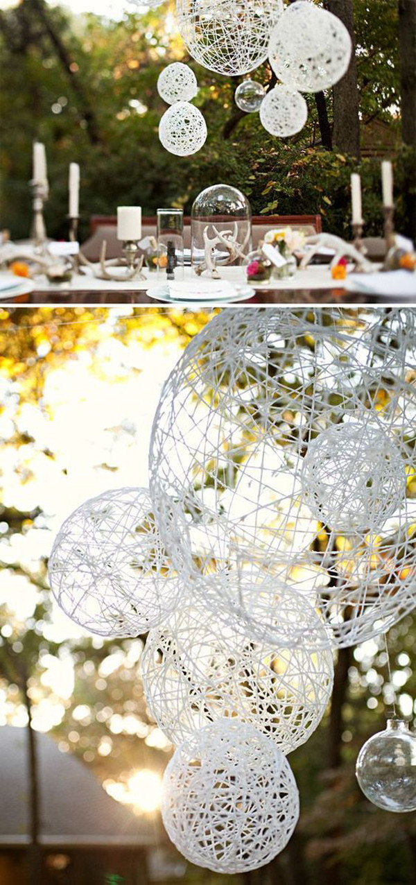 Best ideas about DIY Wedding Decor Ideas . Save or Pin 25 Cheap And Simple DIY Wedding Decorations Now.