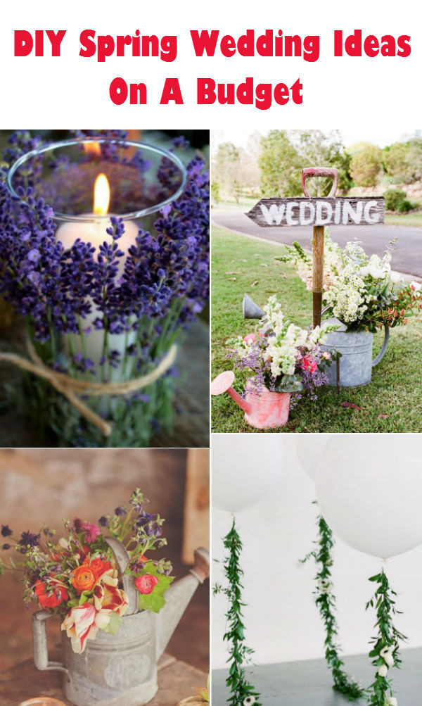 DIY Wedding Decorations On A Budget  20 Creative DIY Wedding Ideas For 2016 Spring