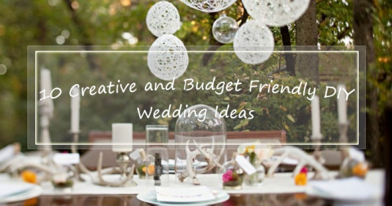 DIY Wedding Decorations On A Budget  Diy Inexpensive Wedding Ideas Home Decorating Ideas