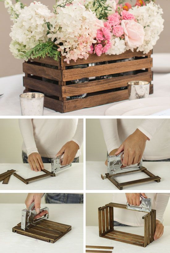 DIY Wedding Decorations On A Budget  Rustic Stick Basket