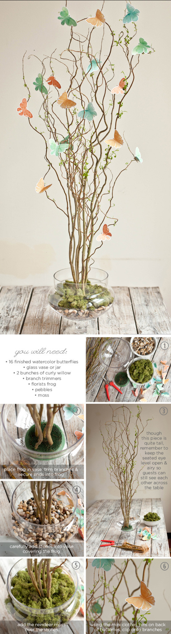 DIY Wedding Decorations On A Budget  24 DIY Spring Wedding Ideas on a Bud