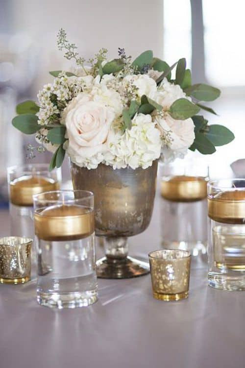 DIY Wedding Decorations On A Budget  12 inspiring DIY wedding centerpieces on a bud Cute