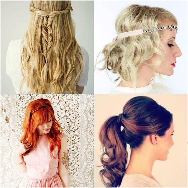 Diy Wedding Hairstyles  12 Super Easy DIY Wedding Hairstyles crazyforus